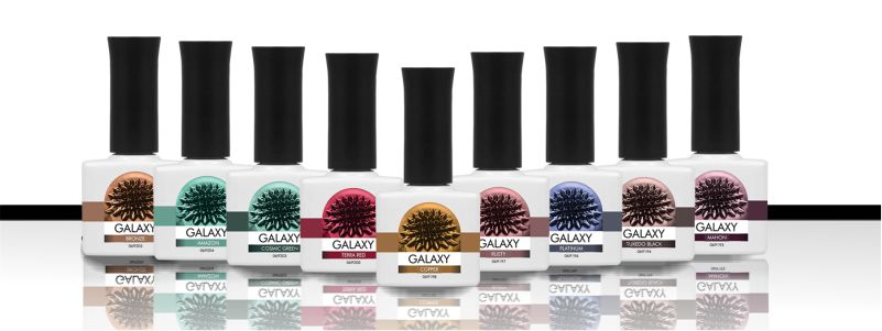 Galaxy polish gel