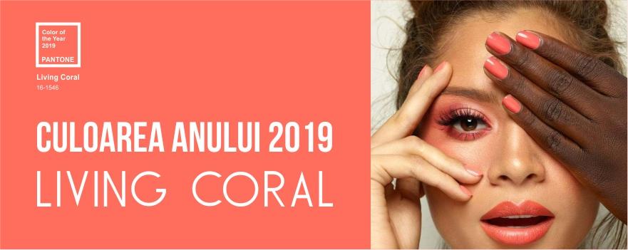 Culoarea Anului - Living Coral