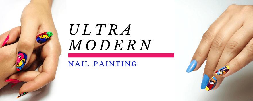 ULTRA MODERN NAIL PAINTING